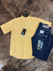 Two Buoys Short Sleeve Button Up