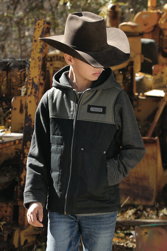 Cinch Hooded Jacket