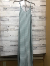 Load image into Gallery viewer, Mint Striped Dres