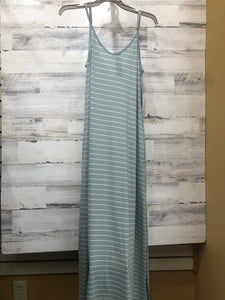Mint Striped Dres