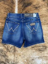 Load image into Gallery viewer, Wrangler Dark Wash Shorts