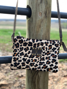 LV Leopard Cowhair Crossbody