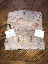 Load image into Gallery viewer, LV Rose Acid Wash wallet