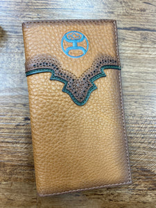Hooey Russet Brown Rodeo Wallet