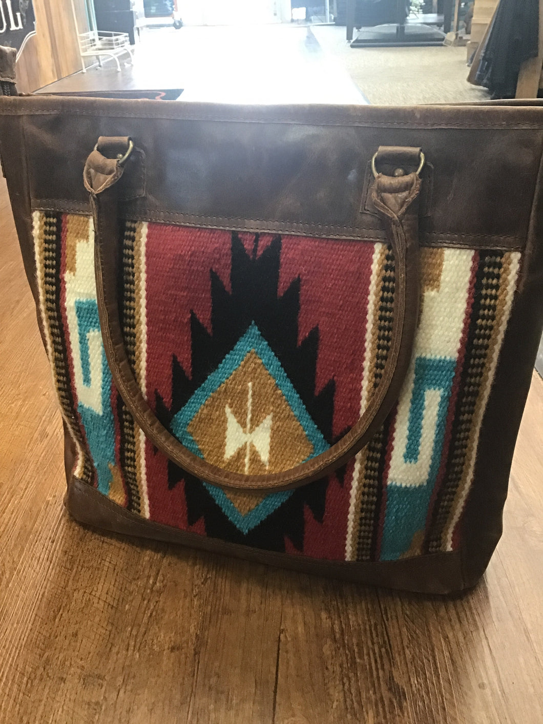 American Darling Aztec Rug Shoulder Bag