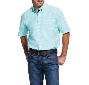 Ariat Pro Short Sleeve Button Up