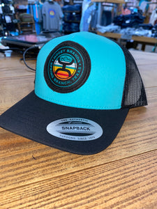 KID'S BLUE AND SERAPE SNAPBACK