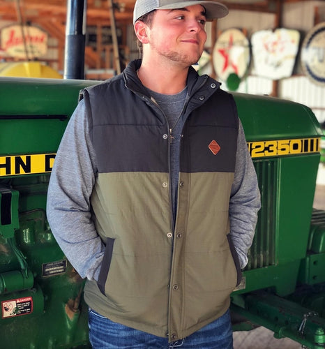Cinch Canvas Puffer Vest