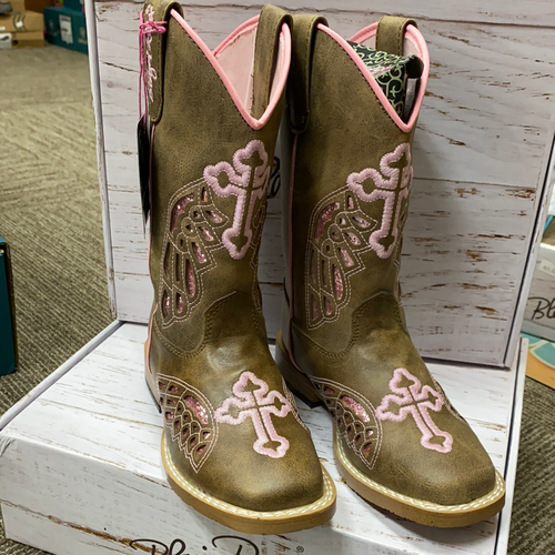 M&F Gracie Pink Boot