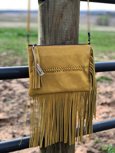 Liberty Black Mustard Crossbody