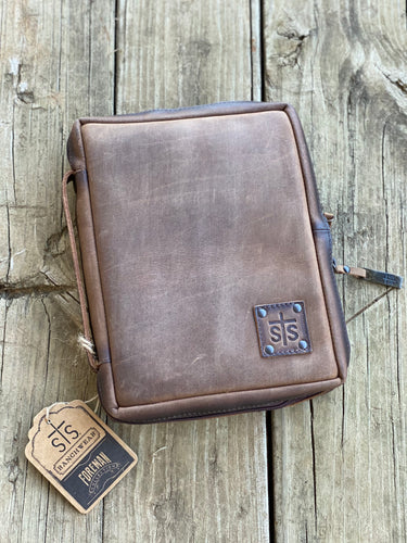 STS Leather Bible Cover