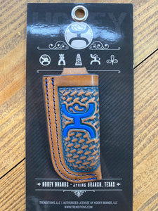 Hooey Blue Logo Knife Sheath