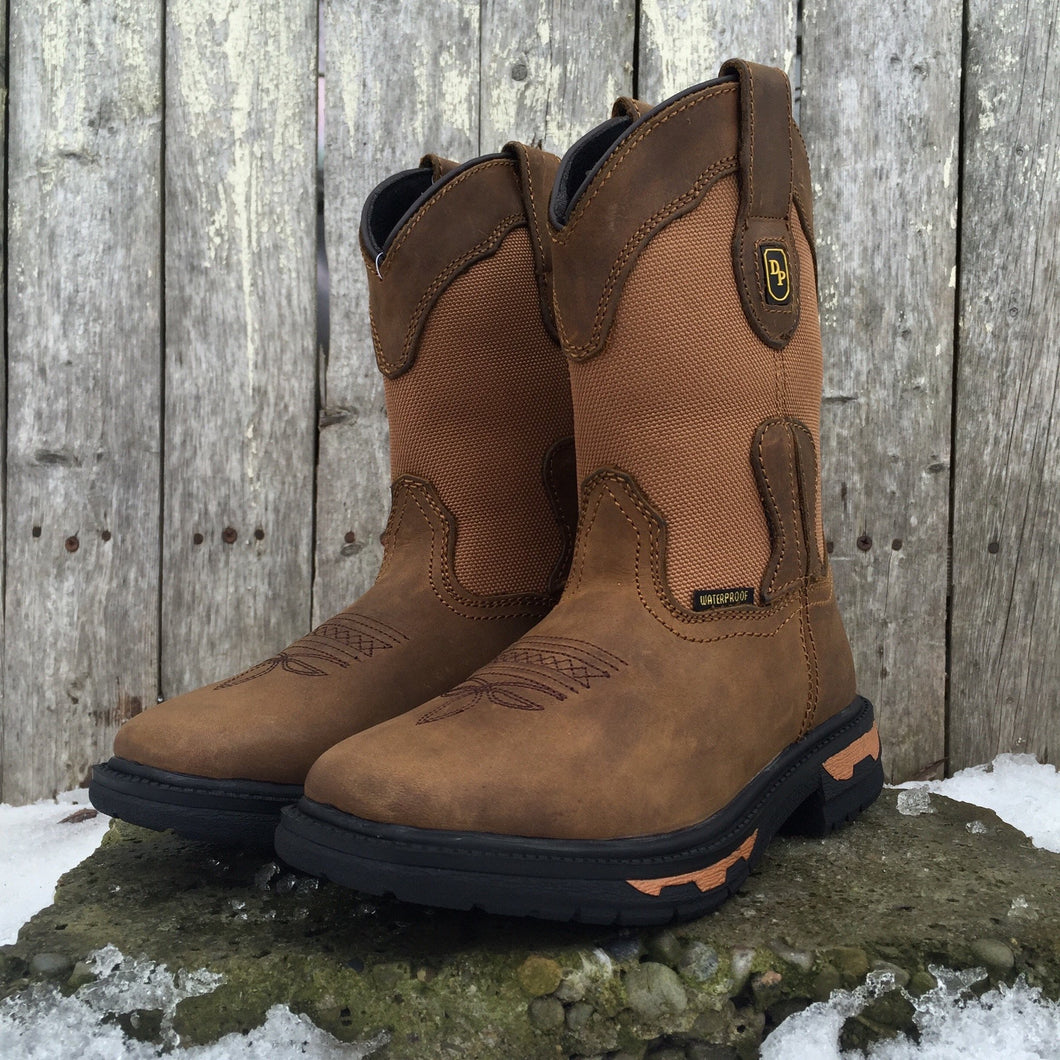Kids Dan Post Waterproof Tan Boot