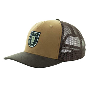 Steer Brown Bex Cap