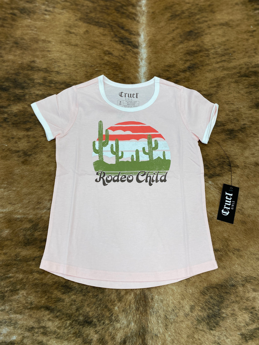 Pink Rodeo Child Tee
