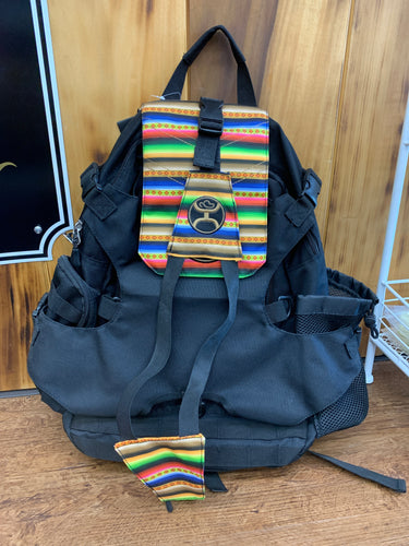Hooey MULE BLK/SERAPE BACKPACK