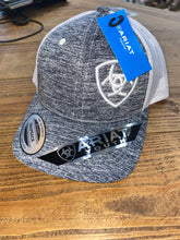 Load image into Gallery viewer, Ariat Kid's GREY/WHITE Cap