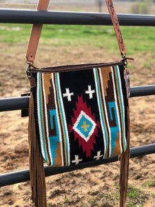 Large Aztec Rug Purse