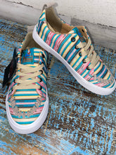 Load image into Gallery viewer, Arreba Pink Stripe Sneaker
