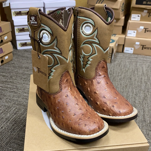 Twister Brant Ostrich Boot