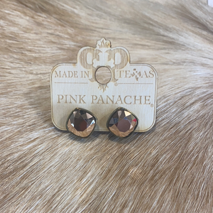 Rose Gold Post Studs