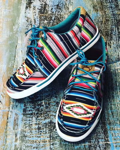 Twisted X Serape Shoes