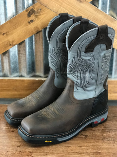 Justin WorkBoots — Steel Toe