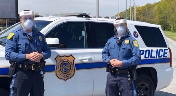 DRBA Police Department Welcomes Donation Of Face Shields