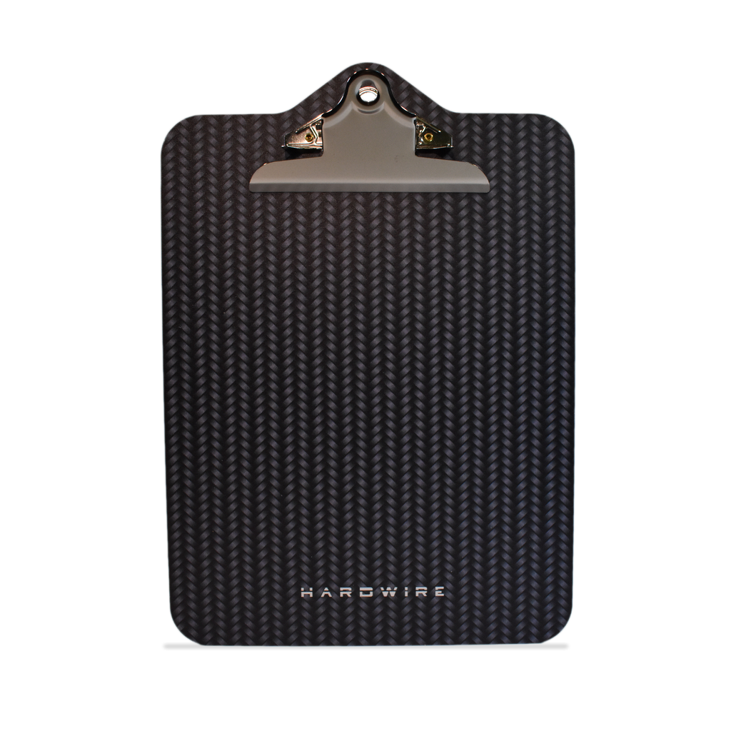 Front side of the Carbon pattern for level IIIA bulletproof clipboard