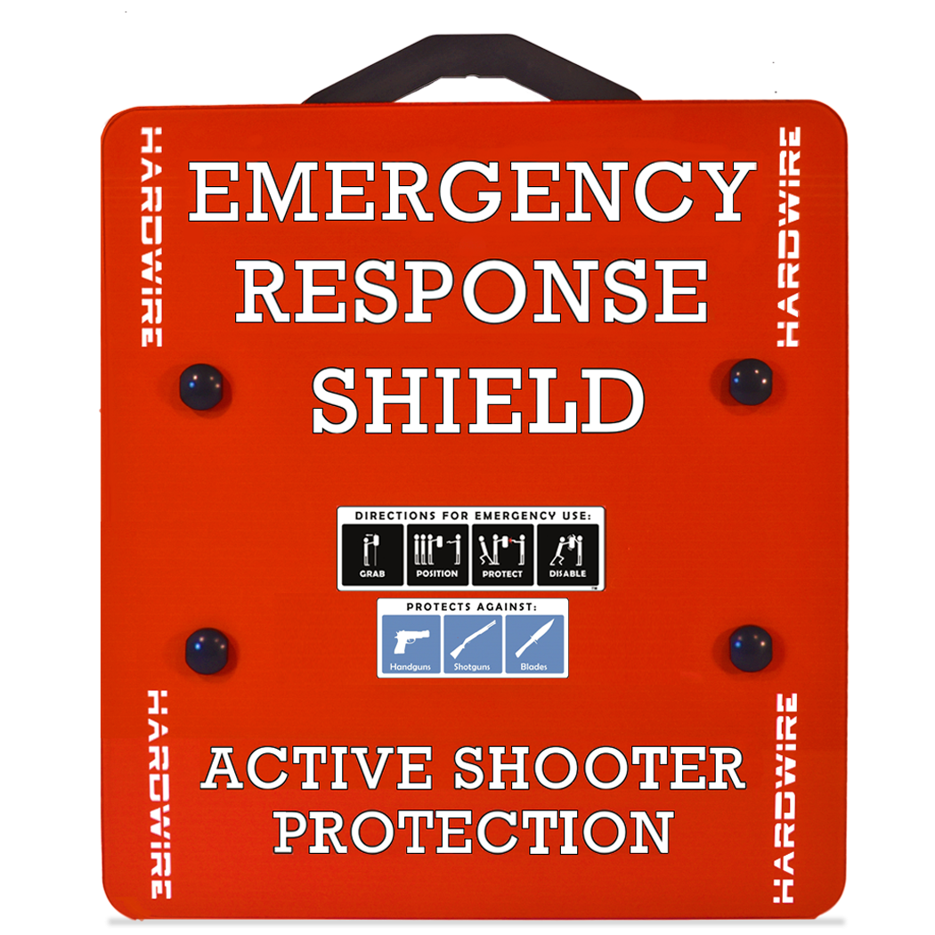 Emergency Response Shield Level 3A Steel | 2.0