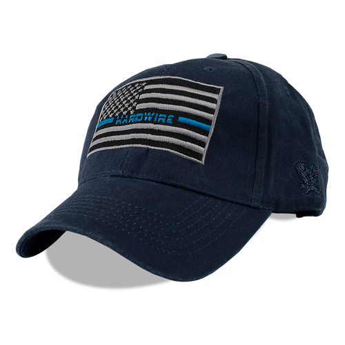 "HARDWIRE ""THIN BLUE LINE"" HAT"
