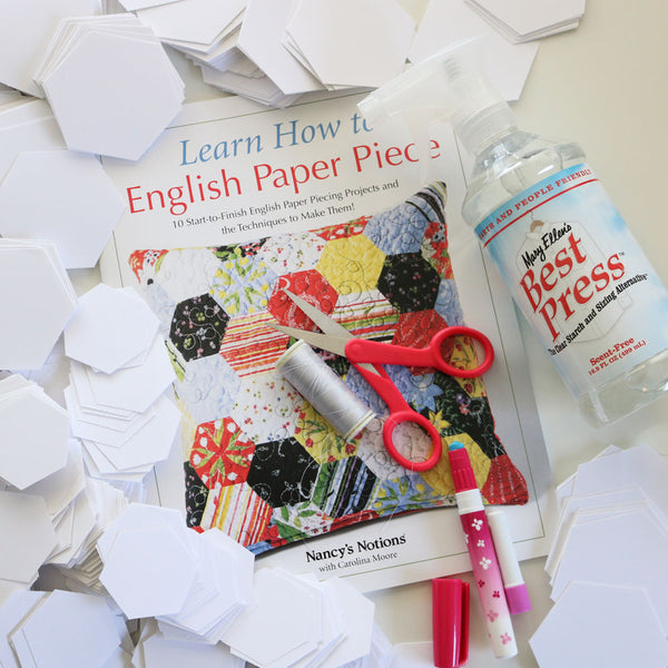 Learn How to EPP - A Book Review & Beginner Project Reveal!