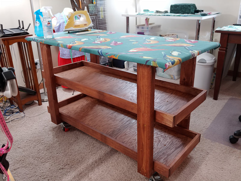 How to Make an Ironing Table