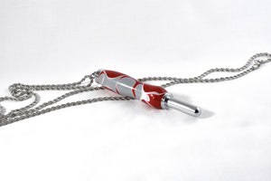 Red/Gray Necklace Seam Ripper