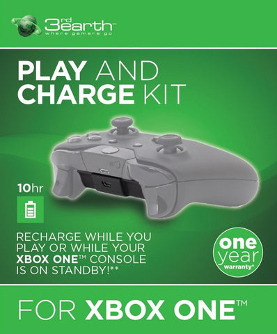3rd Earth Xbox One Play & Charge Kit - Xbox One