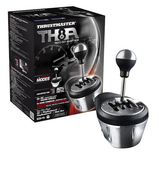Thrustmaster TH8A Shifter (PS4,PS3, PC & Xbox One) - PS4
