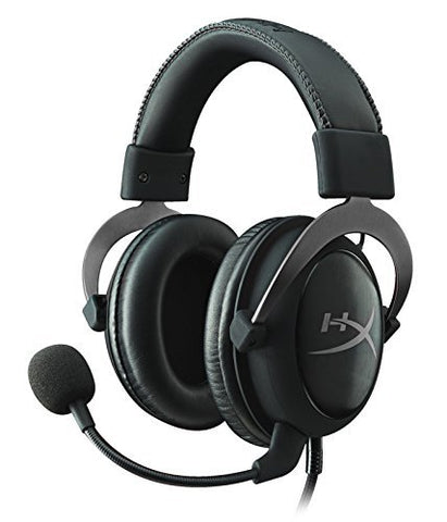 HyperX Cloud II Pro Gaming Headset (Gun Metal) - PC Games