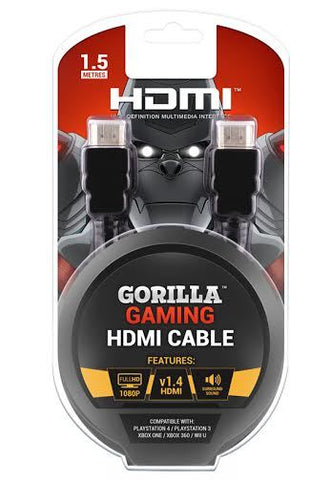Gorilla Gaming HDMI Cable (v1.4, all formats)
