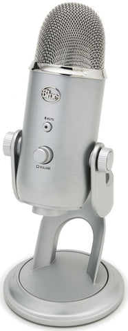 Blue Microphones Yeti Multi-Pattern USB Microphone (Silver)