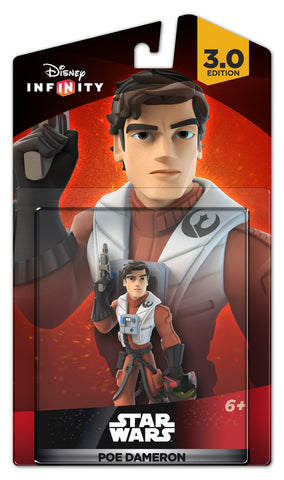 Disney Infinity 3.0 Star Wars: The Force Awakens Poe Dameron Figure