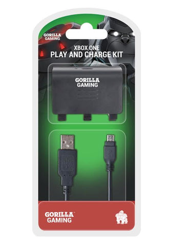 Gorilla Gaming Xbox One Play and Charge Kit - Xbox One