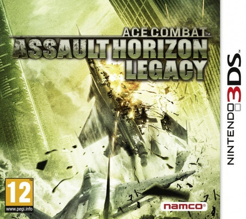 Ace Combat Assault Horizon Legacy + - Nintendo 3DS
