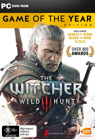 The Witcher 3: Wild Hunt Game of the Year Edition - PC Games