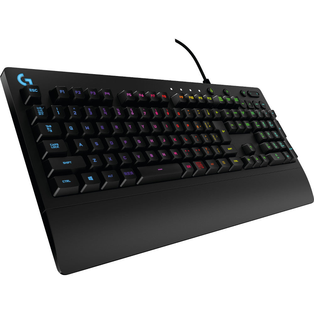 Logitech G213 Prodigy Gaming Keyboard with Integrated Palm Rest