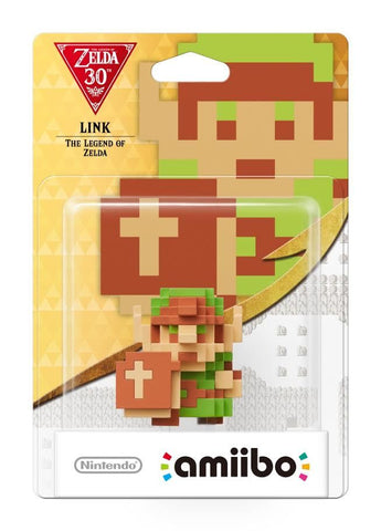 Nintendo Amiibo 8-Bit Link - Zelda Collection - Nintendo Wii U