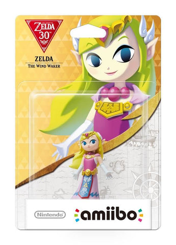 Nintendo Amiibo Wind Waker Zelda - Zelda Collection - Nintendo Wii U