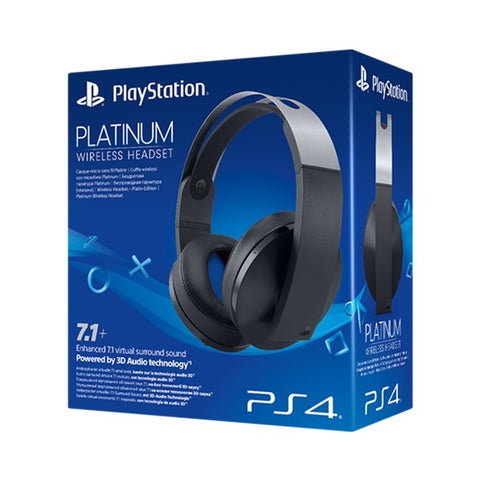 Official PlayStation 4 Platinum 7.1 Wireless Gaming Headset - PS4