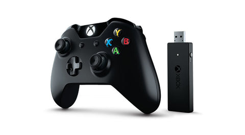 Xbox One Controller + Wireless Adapter for Windows 10 - Xbox One