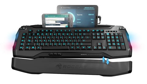 ROCCAT Skeltr Smart Communication RGB Gaming Keyboard - PC Games