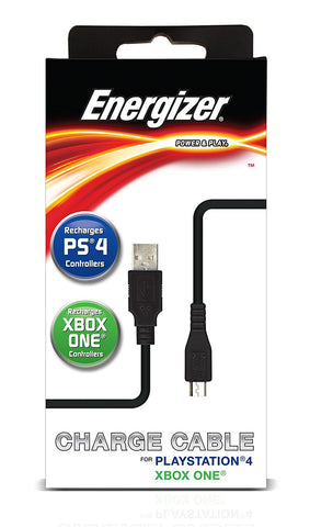 Energizer 6-Feet Universal Power and Play Charge Cable - Xbox One